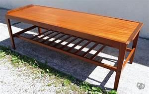 Table Basse Scandinave Vintage : belle table basse vintage scandinave en teck ameublement paris offre 75001 paris 320 ~ Teatrodelosmanantiales.com Idées de Décoration