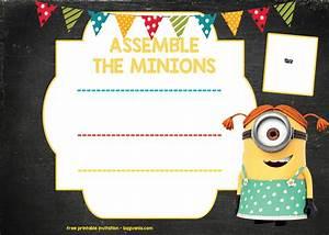 Invitation Wording Party Free Printable Minion Birthday Party Invitations Ideas
