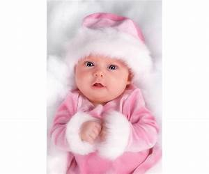 Child's Love - Cute Baby In A Pink Dress 2 - Baby Posters ...