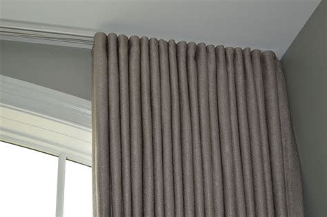 Blackout Curtains For Traverse Rod by Drapery Spruce Interiors