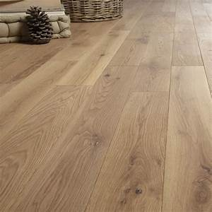 parquet massif chene naturel vitrifie s artens solidclic With parquet quick step leroy merlin