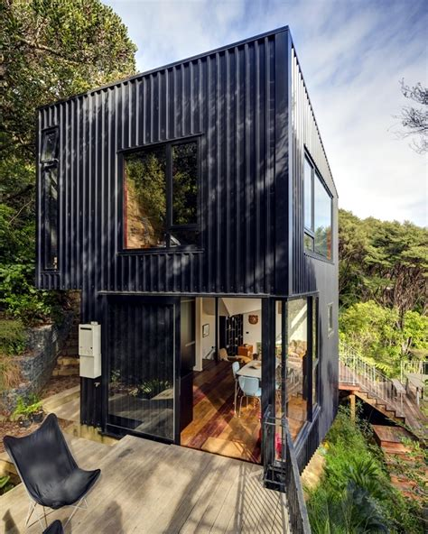 House Built by House Built On A Hillside A Canopy Of Shade Trees