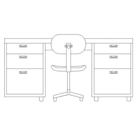 desk elevation cad block cadblocksfree cad blocks free