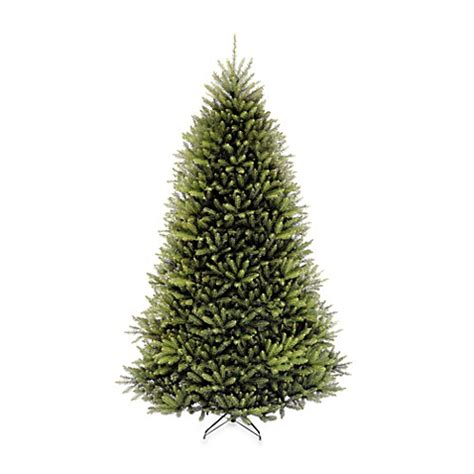 dunhill artificial tree corporation national tree company 12 foot dunhill fir pre lit tree with clear lights bed bath