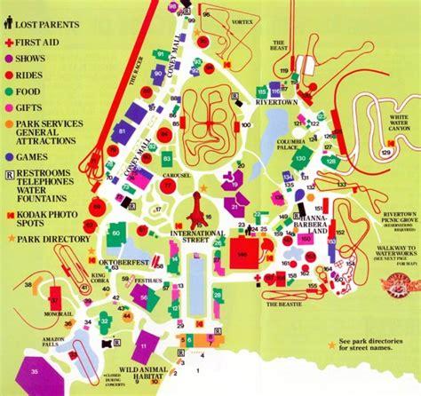 Theme Park Brochures Kings Island - Theme Park Brochures