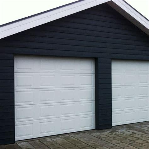 Garage Port by Bango Port Hvid Classic Danmarks Billigste Garageport