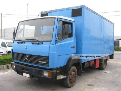 Mercedesbenz 814 1987 Box Truck Photo And Specs