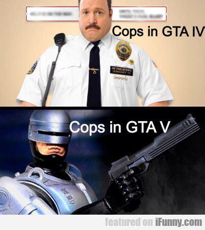 Gta V Memes - cops in gta iv vs cops in gta v ifunny com