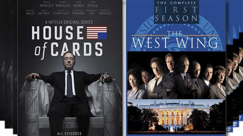 west wing  house  cards  political tv series