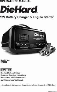 Diehard Automatic Battery Charger Manual