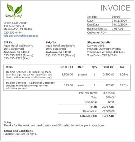 business invoice rusinfobiz
