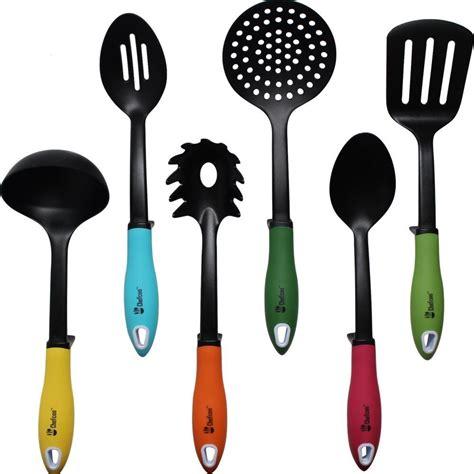 utensils kitchen cooking utensil spoon amazon flipper ladle tool tools pan pasta baking salad mix sets reg piece gadgets spatula
