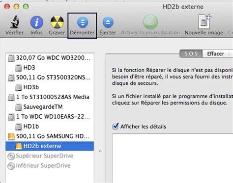 bureau ne s affiche pas disque dur externe ne s 39 affiche pas sur mac