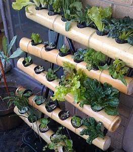 Vertikal Garten System : vertical garden hydroponic balcony system bamboo garden ~ Sanjose-hotels-ca.com Haus und Dekorationen