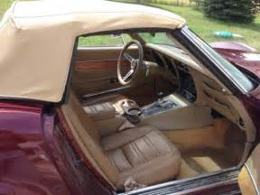 1974 Corvette Stingray Interior