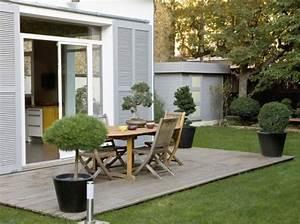 decoration exterieur en bois mc immo With decoration d une terrasse