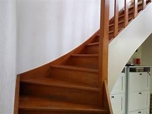 comment repeindre un escalier en bois vernis meilleures With commentaire repeindre un escalier en bois