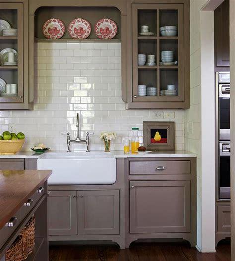 {shades Of Neutral} Gray & White Kitchens Choosing