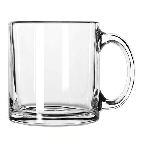 The durable glass is great for everyday use and casual entertaining. Libbey 5213 13-oz Hoffman House Coffee Mug