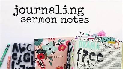 Journaling Sermon Bible