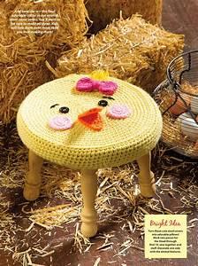 Farm Animal Stools Crochet Cover  U22c6 Crochet Kingdom
