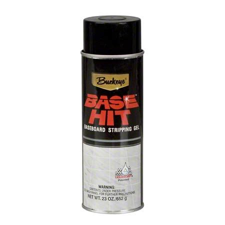 hit the floor aerosol can buckeye 174 base hit baseboard stripping gel 23 oz clearfield wholesale paper co inc