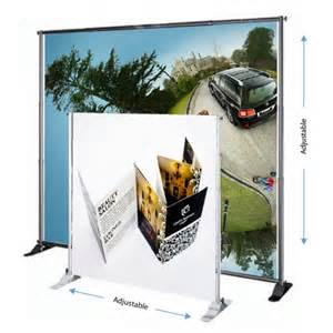 Adjustable Banner Stand by Portable Backdrop Display Malaysia Exhibition Booth