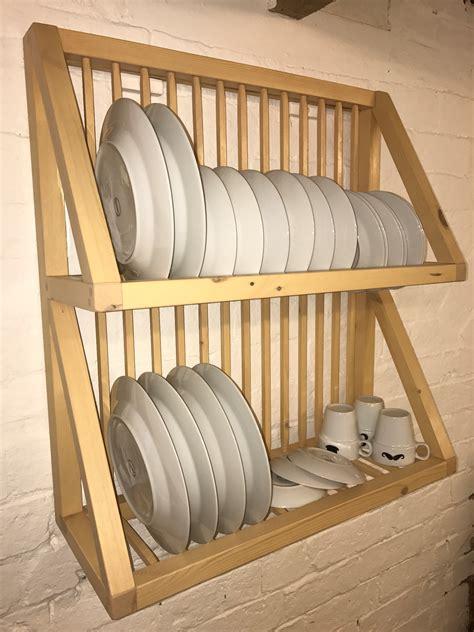 pine painted oak plate rack plate racks plate rack wall plate racks  kitchen