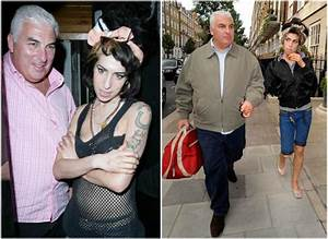 The Late Legendary Amy Winehouse and her family