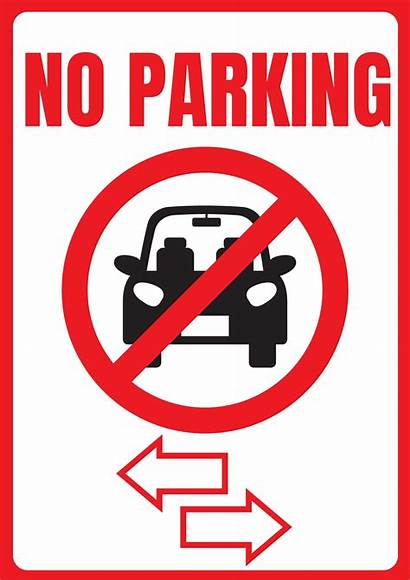 Parking Signs Printable Template A4