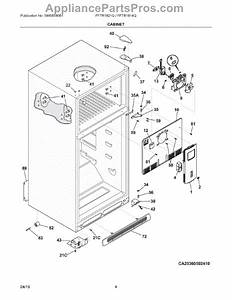 Parts For Frigidaire Fftr1821qw1  Cabinet Parts
