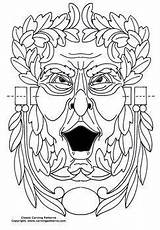 Coloring Wood Water Door Sword Spout Gothic Burning Patterns Printable Pages Man sketch template