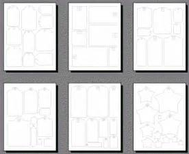 magnetic photo album pages scrapbooking tags templates printable shapes