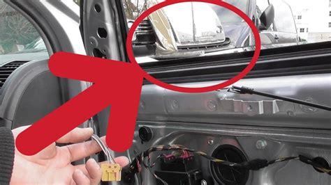 außenspiegel golf 4 au 223 enspiegel wechseln erneuern reparieren tutorial hd vw polo 9n exterior mirrors