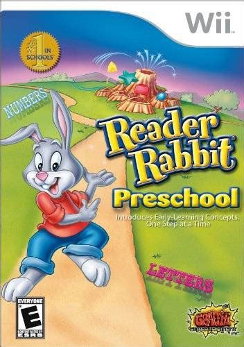 reader rabbit preschool box for wii gamefaqs 788 | 153368 front