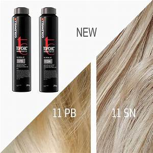 Goldwell Colorance Color Chart Goldwell Topchic 11 Pb 11 Sn Hair Color Chart