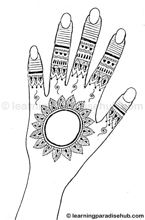 Simple and Easy Mehndi Design for Hand - Mehndi Designs