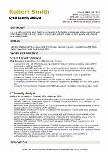 Cyber Security Resume Cyber Security Analyst Resume Samples Qwikresume