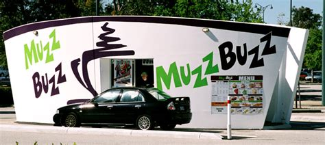 Delivered by email or printed at home, with the suggested use of spending the gifted money at bentley's coffee. Muzz Buzz - Drive-Through Coffee Shops