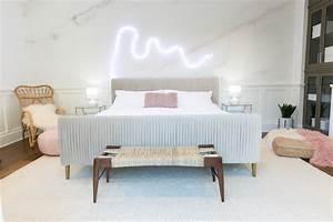 Mr Kate - Palm Springs Pastel Bedroom Makeover for Alisha