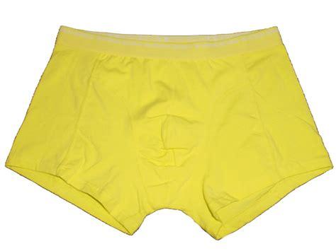 New Bjorn Borg Signature Yellow No Fly Boxer Brief Trunk