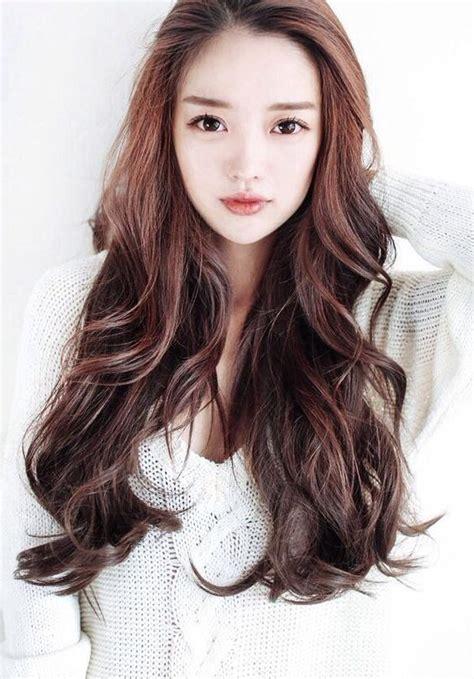 popular long hairstyles asian