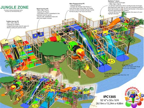 Commercial Indoor Playground Equipment Manufacturer  Fec Designs