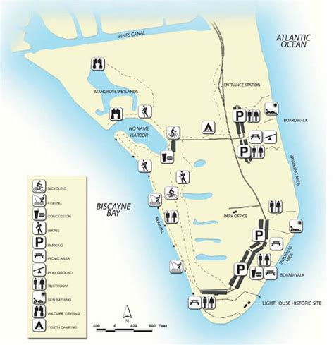 state map park national dade bill parks baggs miami county florida fl beaches fish beach fishing crandon key biscayne catch
