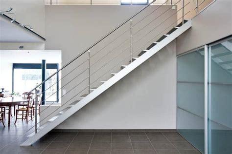 escalier droit marche alu rambarde inox divinox