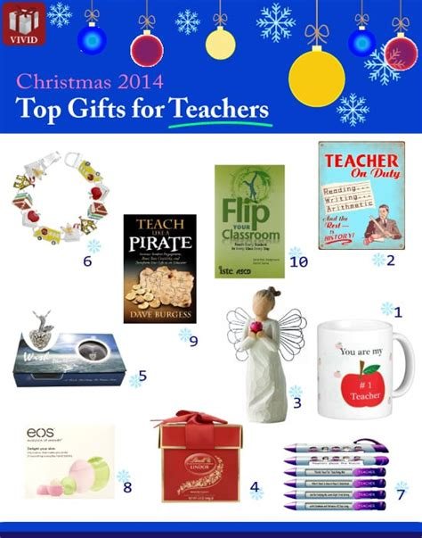 2014 christmas appreciation gifts for teachers vivid s