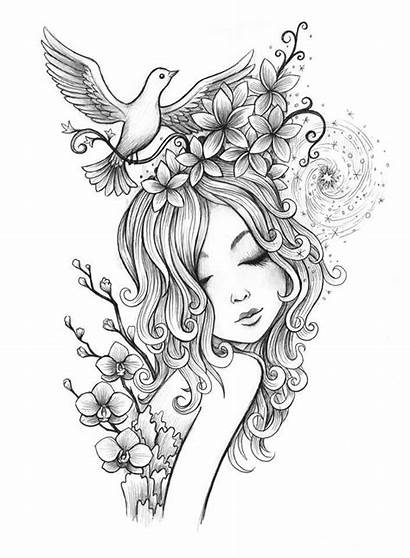 Coloring Fairy Pages Adults