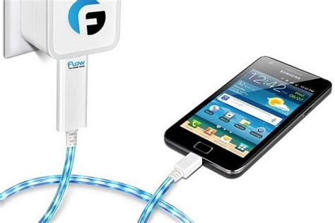 phone charger glowing charger lets you when the phone has a