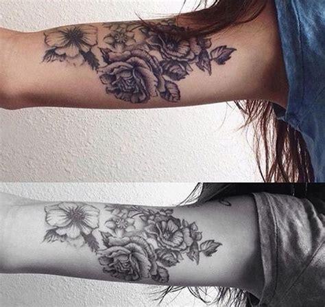 ideas  rose arm tattoos  pinterest demi