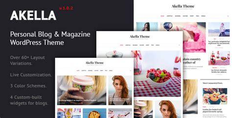 Personal Blog & Magazine Wordpress Theme